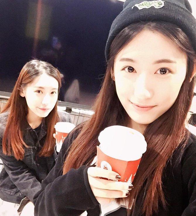 复旦大学双胞胎姐妹花走红