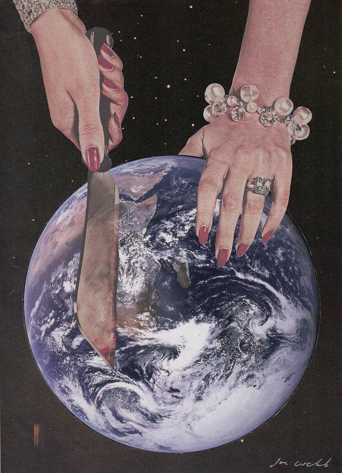 人类每一次PS,都会产生巧妙滴艺术作品 - 大山 - 生活就是一种修行