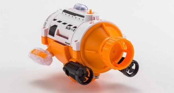 摄影专属利器 遥控潜水艇相机