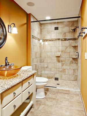 小户型卫浴装修案例 揭示空间宽敞的秘密
