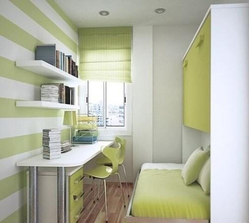 16平米的超小公寓设计的这套极富现代(现代装修效果图)感的室内装修.
