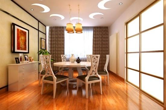 从室内空间结构来说,以木构架形式为主