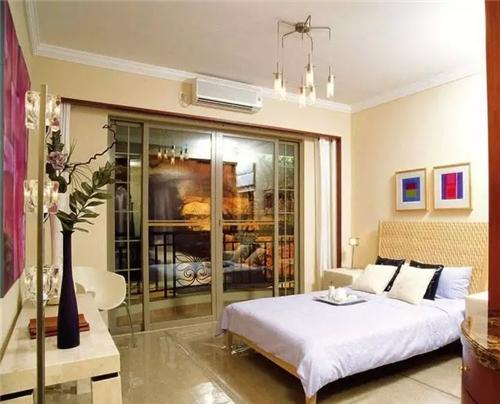 超多款精美卧室带阳台装修图 还有榻榻米飘窗哦