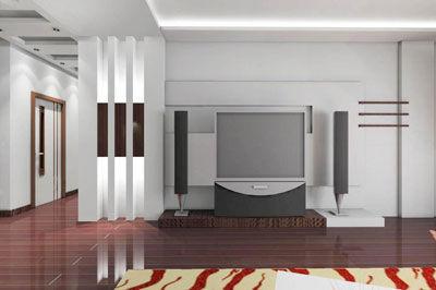 电视背景墙设计图精选