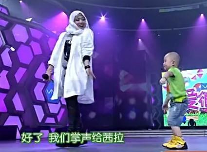 淄博3岁萌娃登《快乐大本营》小光头热舞萌翻全场