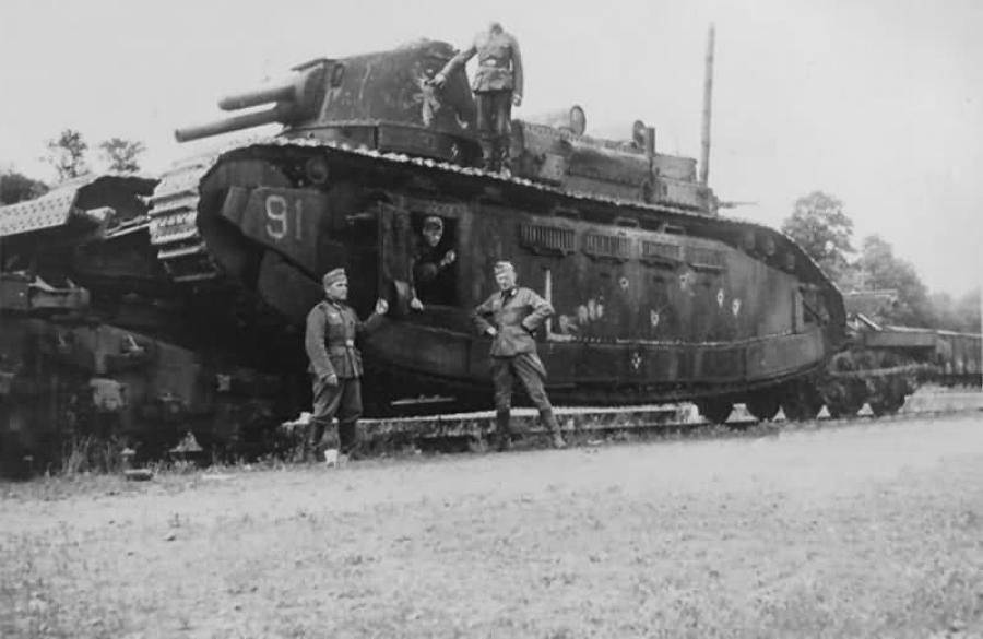 一战怪胎 法国巨型坦克