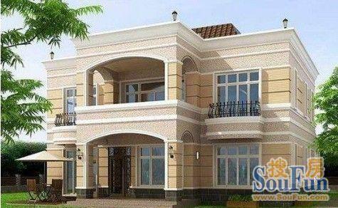 农村对房屋的设计和建设的要求都会有所增加,南京农村两层房屋外观图