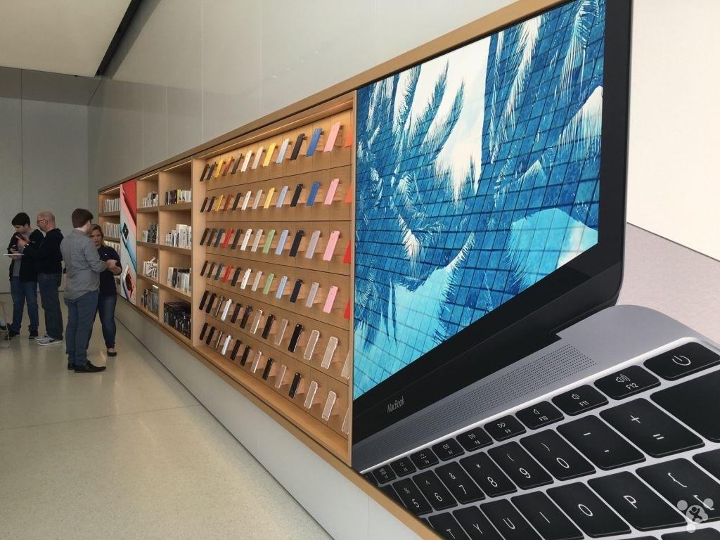 探秘全球首家采用了全新设计的苹果零售店