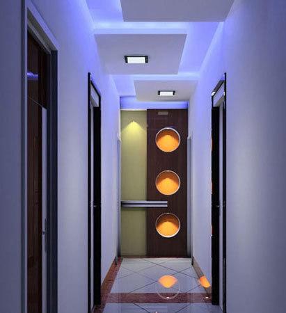 客厅进门玄关效果图:走廊吊顶装修效果图