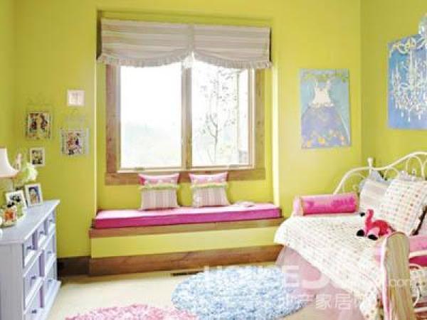 小户型儿童房装修图 粉嫩无法阻挡