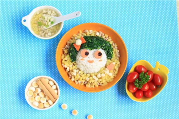 可爱食物萌图简笔画