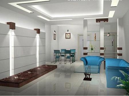 家装客厅装修效果图,简装客厅吊顶效果图,客厅吊顶壁纸效果